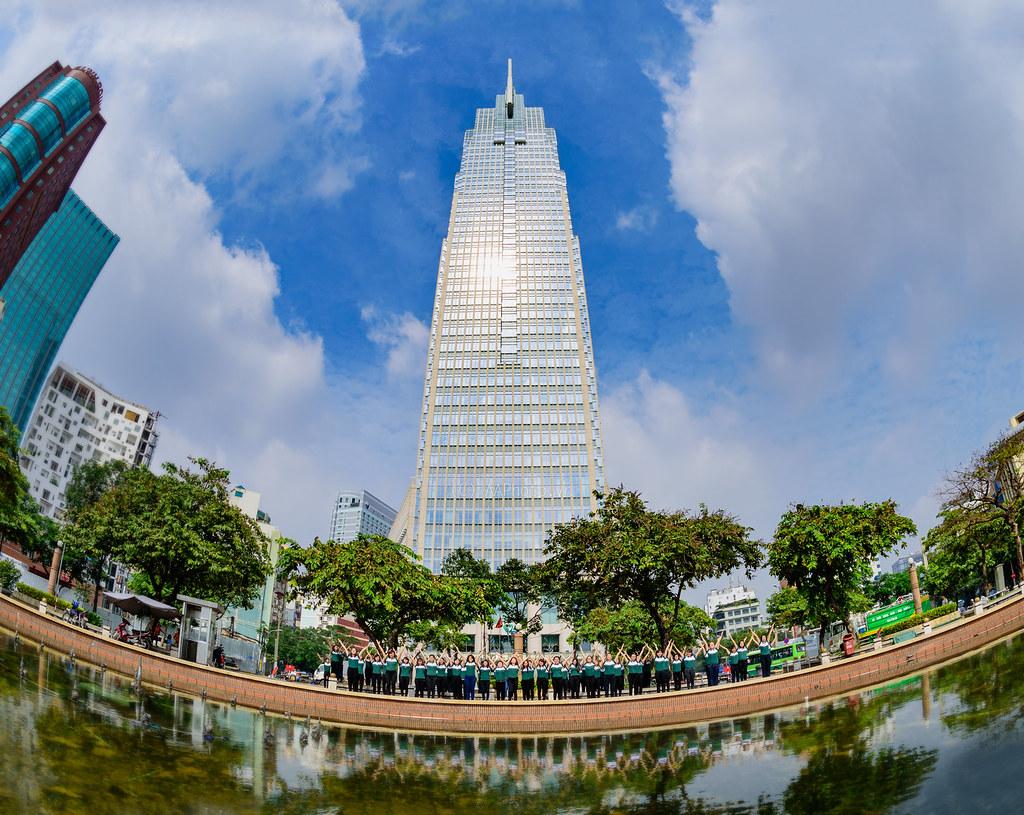 Cho thuê văn phòng quận 1 tại Vietcombank  Tower-Saigon Office